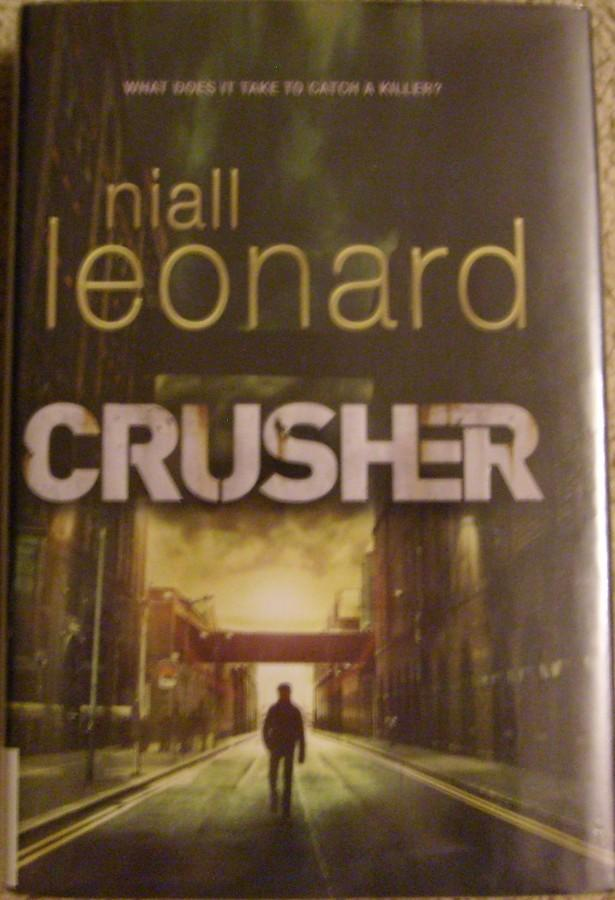 The+book+cover+of+%22Crusher.%22