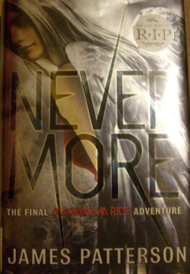 The front cover of 'Nevermore.'