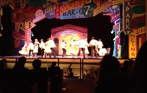 The ensemble dancing in Havana