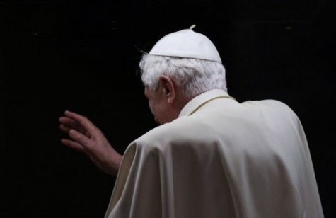 Pope resigns because of age