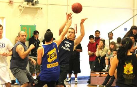 Senior vs. Staff Basketball Game