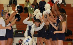 Senior Night: Boys Varsity Basketball and Cheerleading