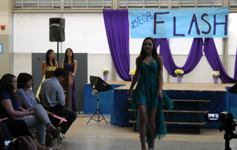 DECA prom fashion show struts to Carlmont