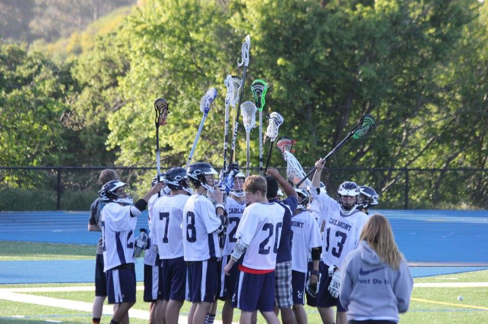 FS lax team at previous game
