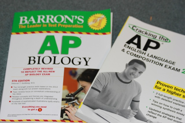 AP+practice+books+used+to+study+for+the+AP+Biology%2C+and+AP+English+test