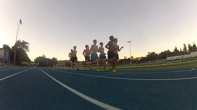 The cross country team practices every day from 3:30 pm to 6 pm each day in order to be ready for upcoming meets.