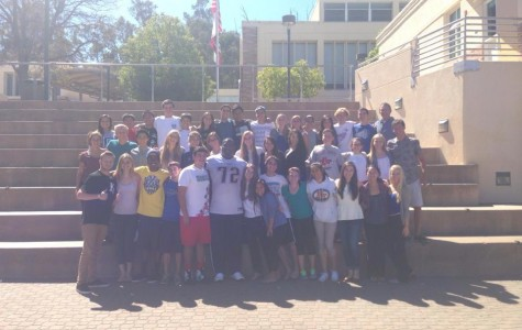 Wyman poses front and center with ASB