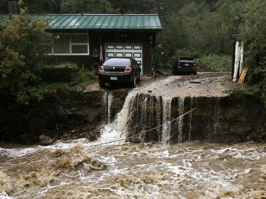 Fatal floods in Colorado