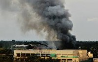 Smoke billows from Westgate Mall during the four day struggle