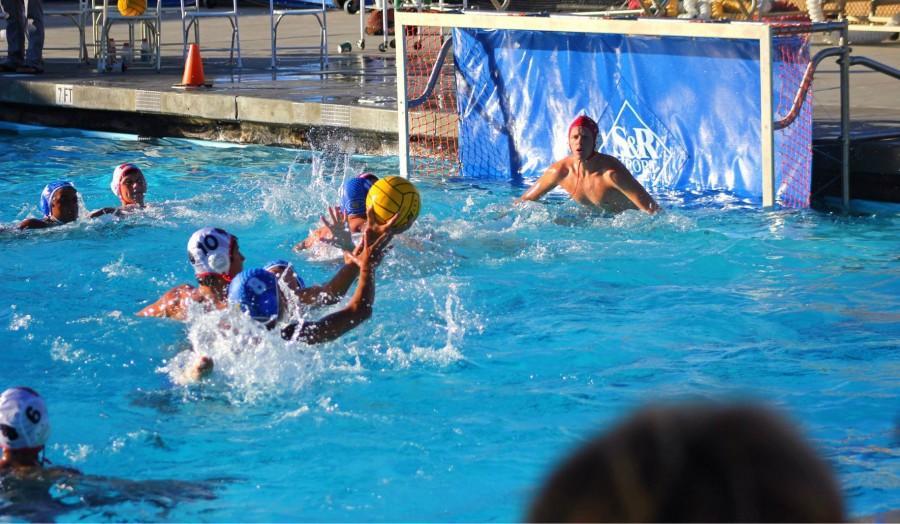 Boys triumph over varsity water polo win
