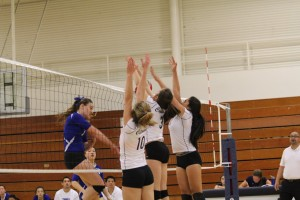 Varsity Volleyball against South San Francisco is a tough one