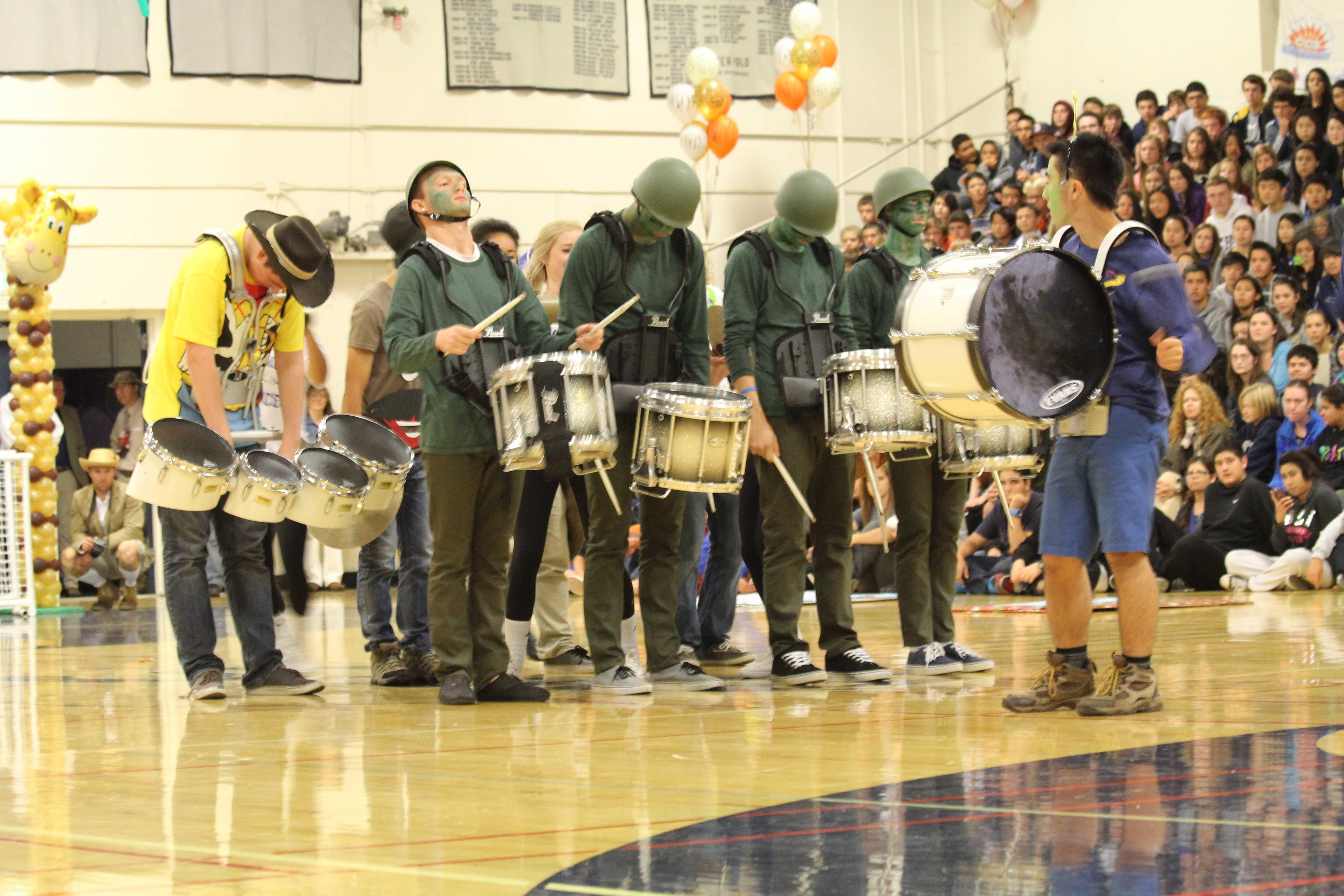 Carlmont's famous Drumline
