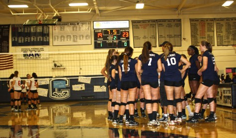 A true battle for JV volleyball