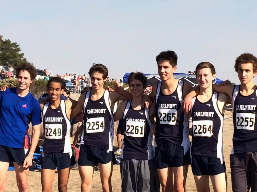 Carlmont Mens Cross Country takes PAL championship