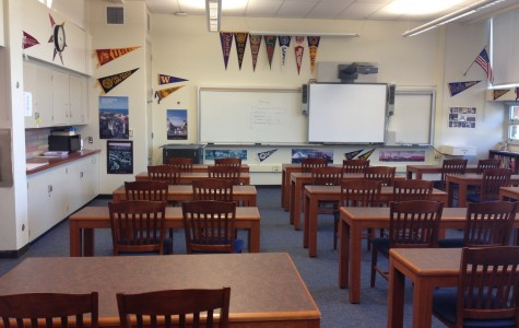 Carlmont's college center serves as a location for intimate yet professional college meetings.