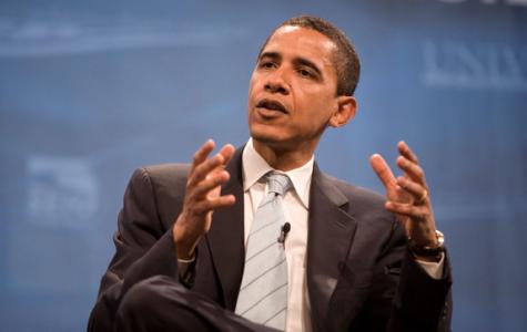 President Barack Obama speaking.