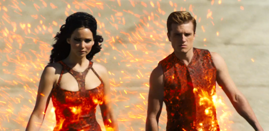 A+scene+from+%22The+Hunger+Games%3A+Catching+Fire%22+trailer.