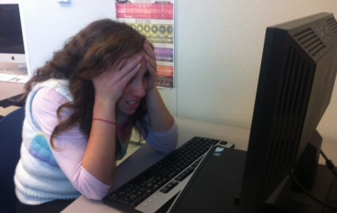 Senior Kalila Kirk coping with the Common App problems