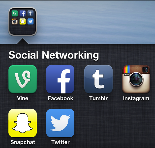 Social+media+apps+are+a+prominent+must-have+on+phones+nowadays.