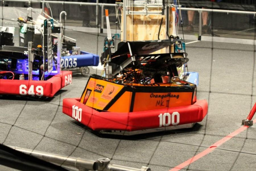 Robot+OrangaHang+Mark+II+from+the+2012-2013+Robotics+season.+