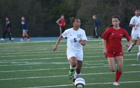 Another win for girls varsity soccer