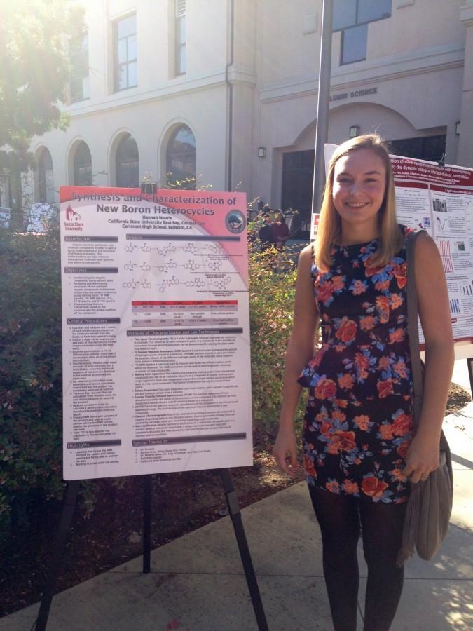 Hannah Nourie at CSU East Bay.