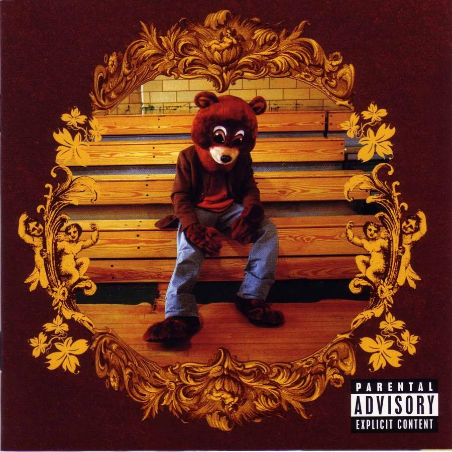 The+album+artwork+for+%22The+College+Dropout.%22