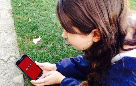 Many Carlmont students use the Netflix app to watch their favorite shows and movies on smart phones and tablets.