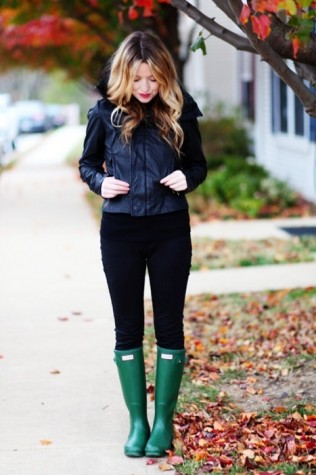 How to avoid rainy day outfit mishaps