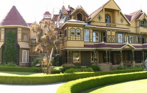 A view of the Winchester Mystery House. Photograph property of atlasobscura.com.