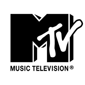 The frequently shown logo for MTV.