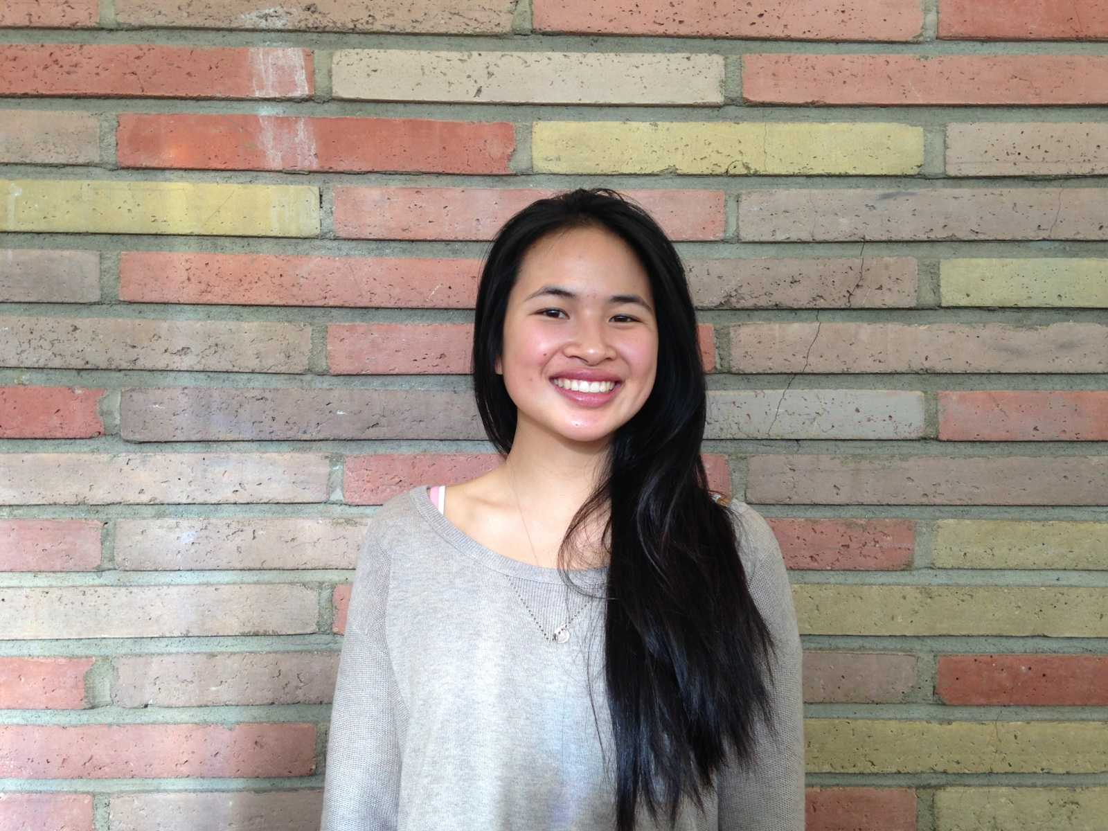 Kamrin Choye participates in many different volunteering opportunities.