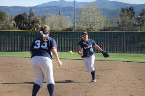 Varsity softball strikes out