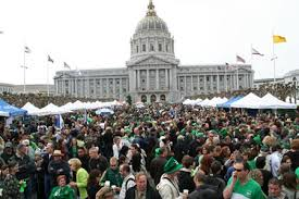 St.Patrick's day parade in San Francisco