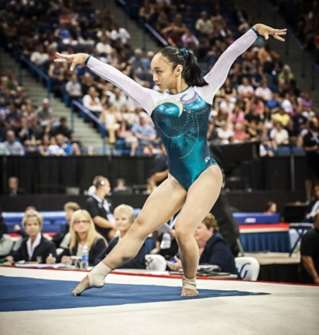 Carlmont student is a nationally ranked gymnast