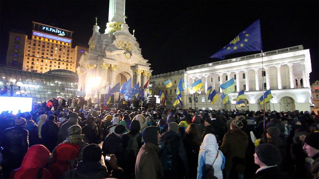 There are protests in Kiev, Ukraine. Photo courtesy of Creative Commons Search.
