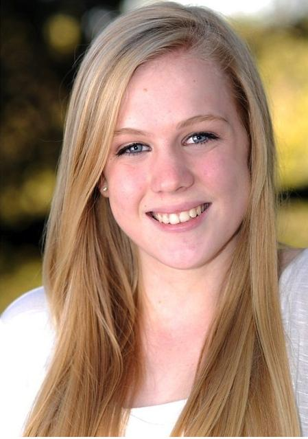 Abbey Holbrook's headshot from Carlmont's musical,
