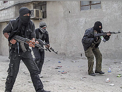 Al Qaeda members in Syria. Picture from static2.businessinsider