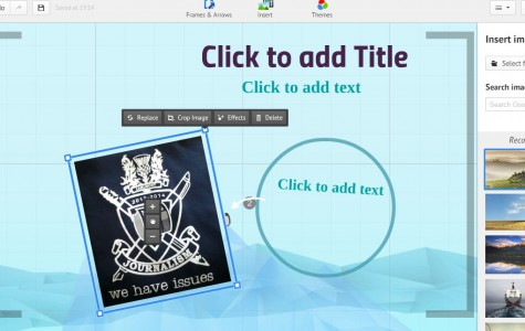 Prezi.com is another option instead of Microsoft PowerPoint that Carlmont students take advantage of when having to create presentations for class assignments.