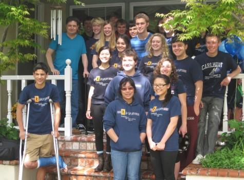 Students surprise DaBaldo