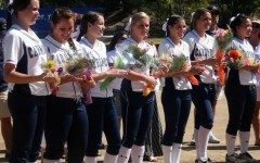 A senior day victory for varsity softball