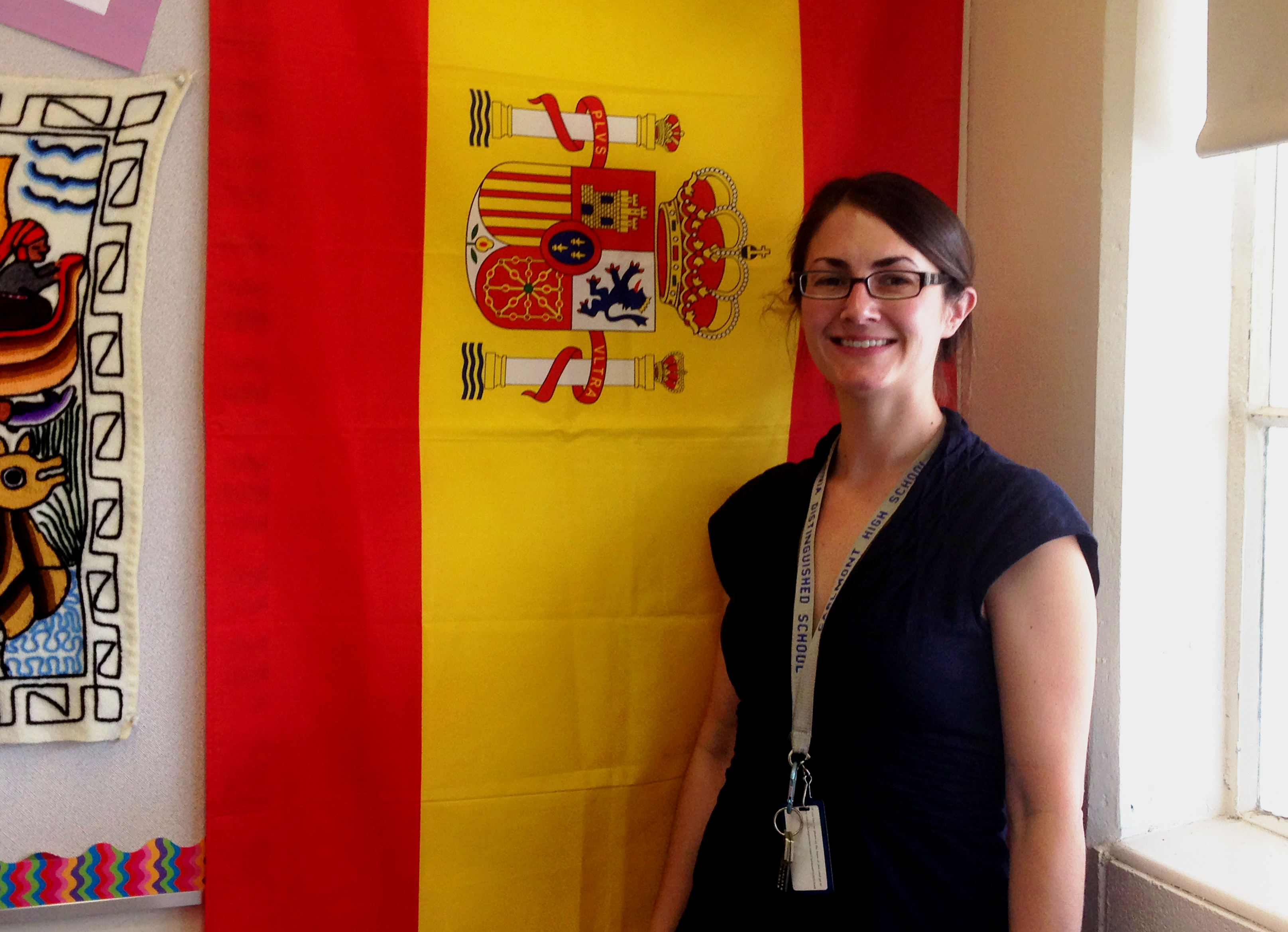 Gatzert has devoted her life to Spanish and wishes to share her passion for it with her students.