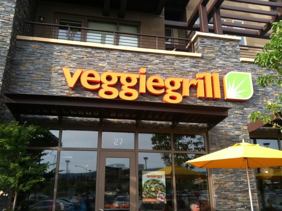 Exterior of Veggie Grill