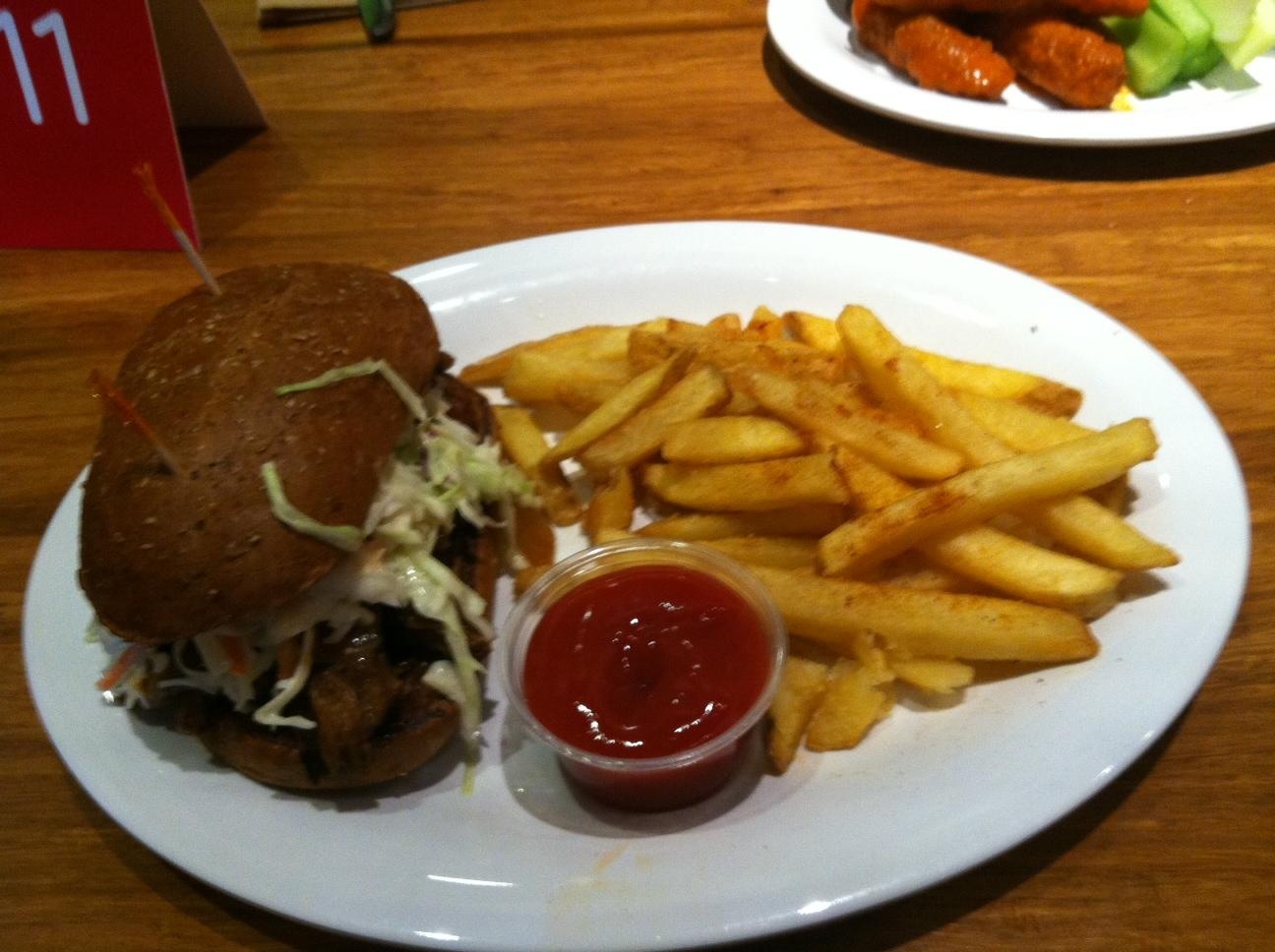 BBQ 'Steak' burger