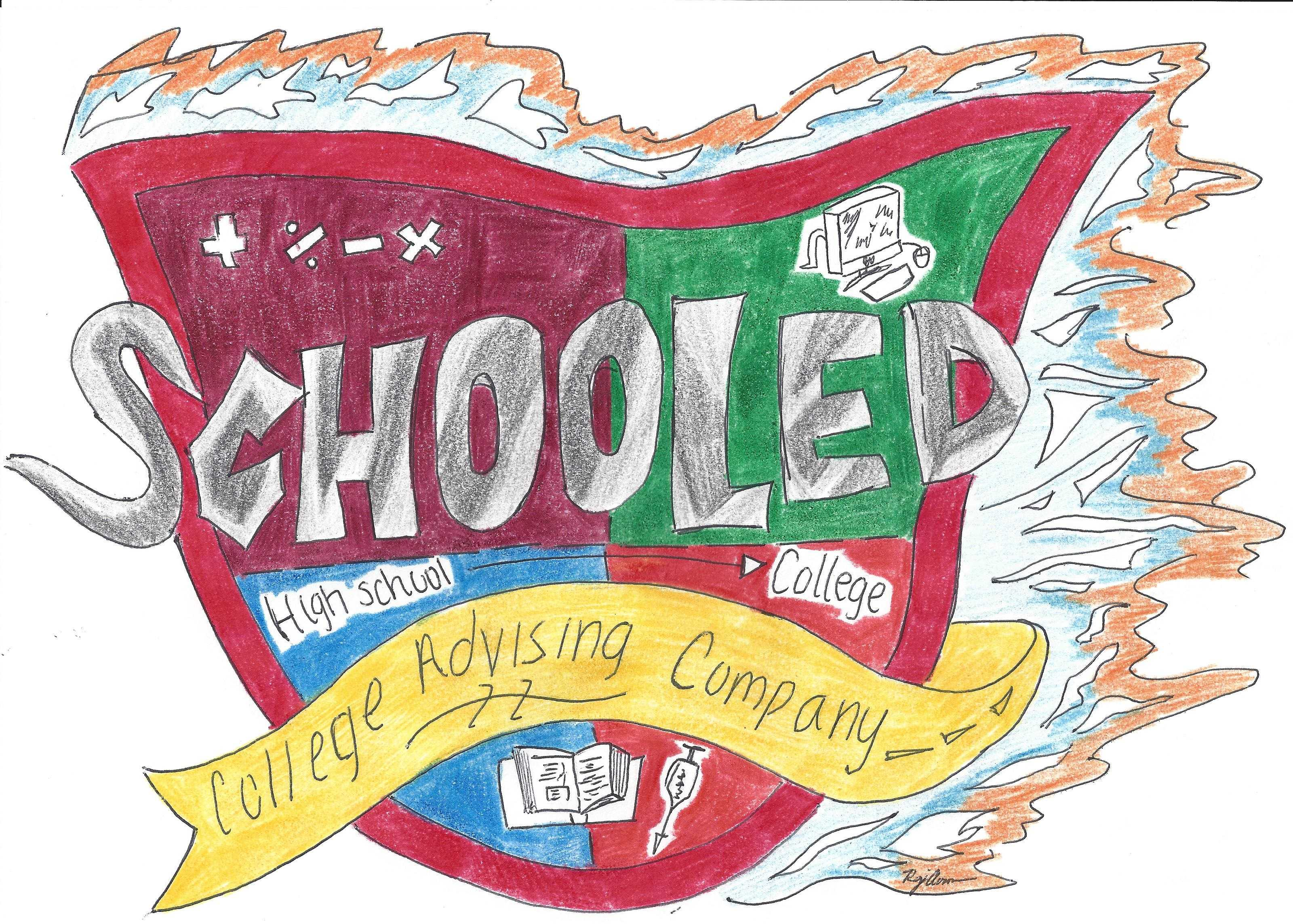The logo for Schooled Prep. Photo from schooledprep.com.