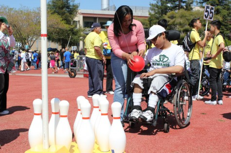 Key Club takes part in the Special Games