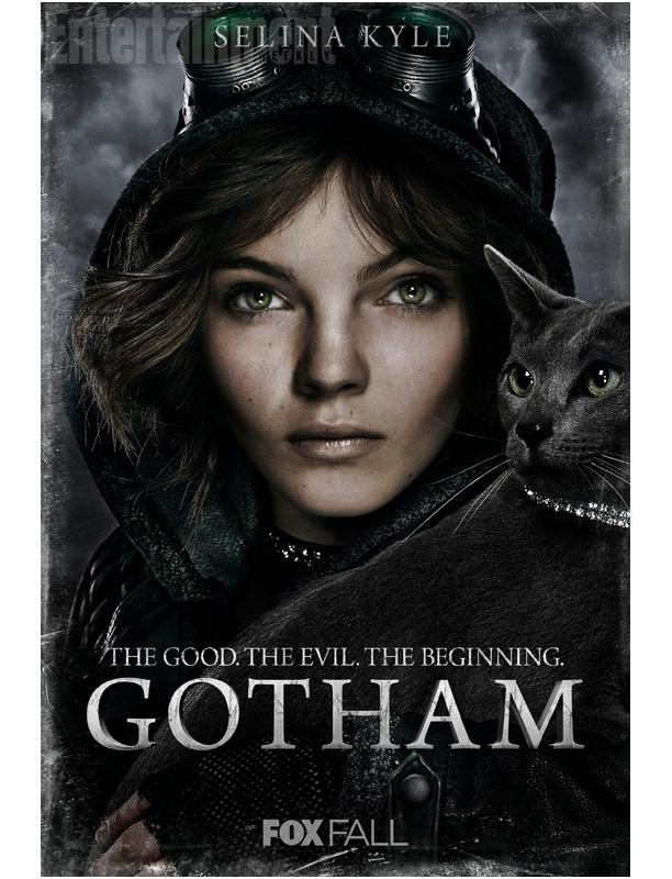 Selina Kyle is portrayed as a young street orphan, before she took up the mantle of Catwoman.