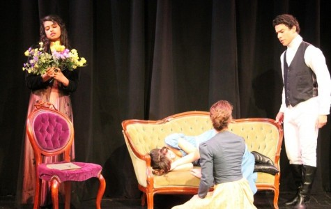 Carlmont students explore their passions for theater by performing in the play,