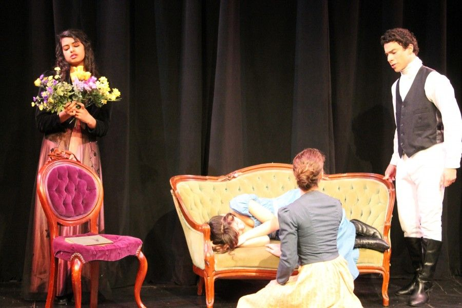 Carlmont+students+explore+their+passions+for+theater+by+performing+in+the+play%2C+%22Pride+and+Prejudice.%22