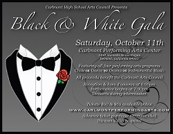 The Black and White Gala features all four Carlmont performing arts programs.